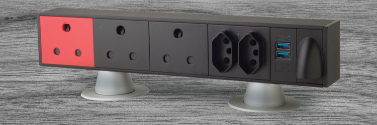 Wing Range On Desk Power outlet img